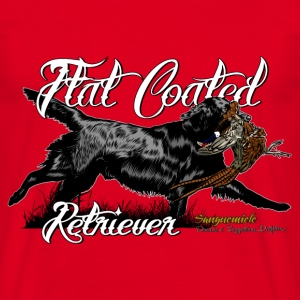flat_coated_retriever T-Shirts - Men's T-Shirt