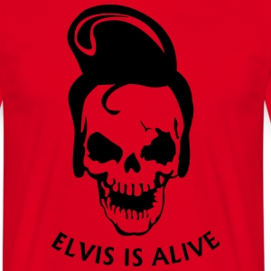 Elvis is alive T-shirts - Mannen T-shirt