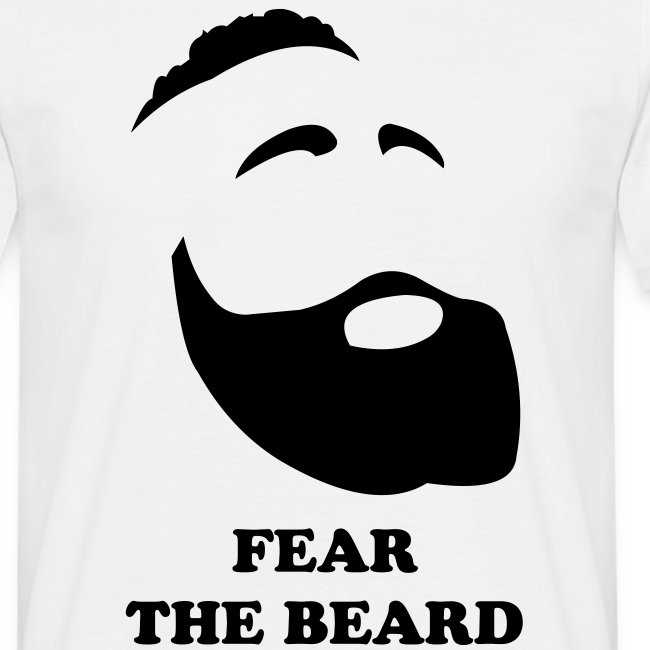 Fear the Beard - white