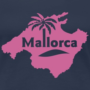 Frauenshirt Mallorca Beach Party Spanien - Frauen Premium T-Shirt