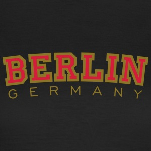 Berlin Germany Red&Gold T-Shirts - Women's T-Shirt