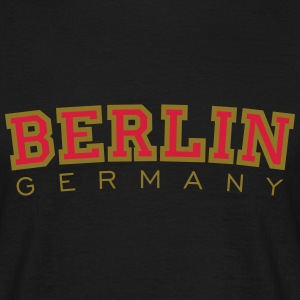 Berlin Germany Red&Gold T-Shirts - Men's T-Shirt