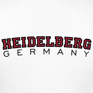 Heidelberg Germany Red/Black T-Shirts - Women's T-Shirt