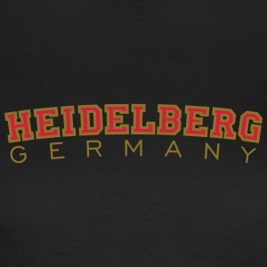 Heidelberg Germany Red/Gold T-Shirts - Women's T-Shirt