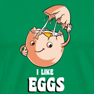 I Like Eggs T-Shirts - Men's Premium T-Shirt