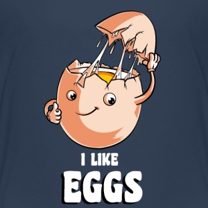 I Like Eggs Shirts - Kids' Premium T-Shirt