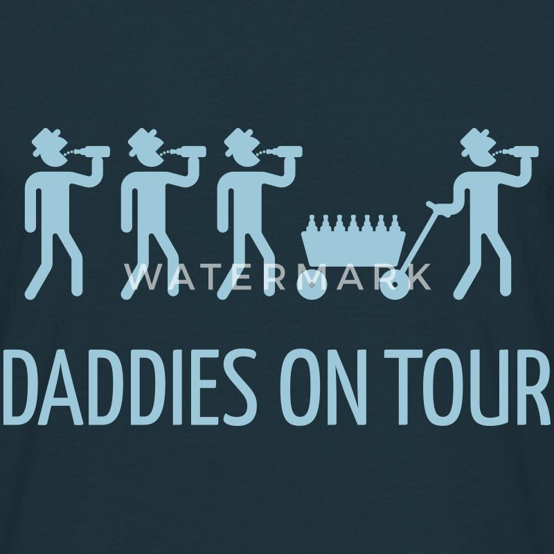 Daddies On Tour (Vatertag) T-Shirt - Männer T-Shirt