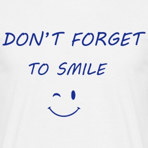 Smile T-Shirts - Men's T-Shirt