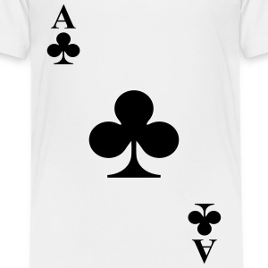 Ace of clubs Shirts - Kids' Premium T-Shirt