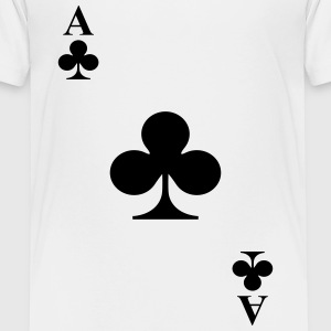 Ace of clubs Shirts - Teenage Premium T-Shirt