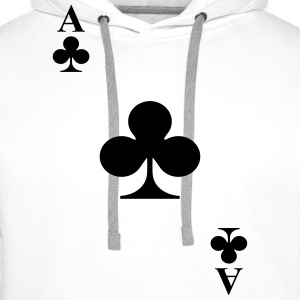 Ace of clubs Hoodies & Sweatshirts - Men's Premium Hoodie