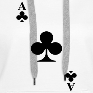 Ace of clubs Hoodies & Sweatshirts - Women's Premium Hoodie