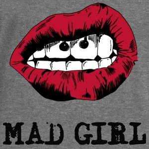 mad girl 2 Hoodies & Sweatshirts - Women's Boat Neck Long Sleeve Top