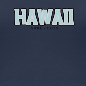 hawaii distressed - T-shirt Premium Femme