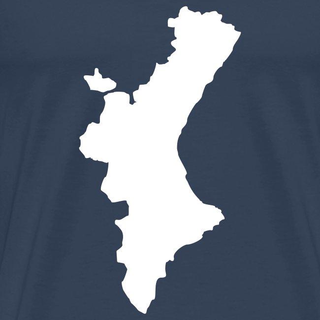 Mapa valencià amb relleu