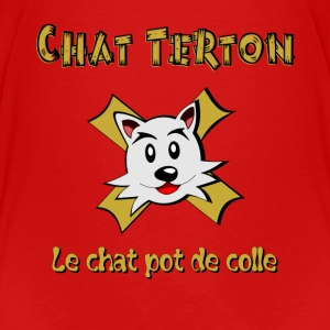 Chat Terton version 2 Tee shirts - T-shirt Premium Enfant