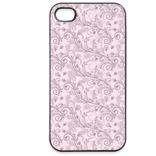 Florales Muster rosa | Handy Cover Case