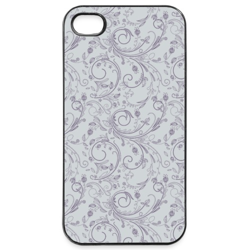 Florales Muster lila | Handy Cover Case