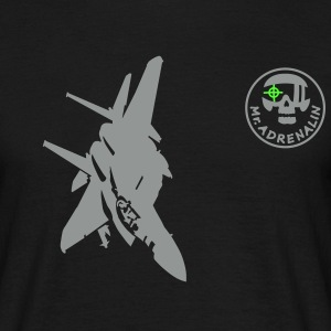 fighter F-15 T-shirts - Herre-T-shirt