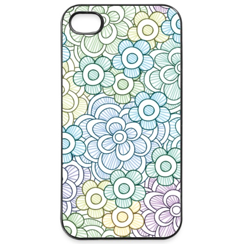 Florales Muster pastell | Handy Cover Case