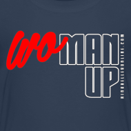 Design ~ WoMan Up Kids T-Shirt