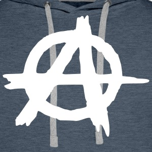 Anarchy Sweat-shirts - Sweat-shirt à capuche Premium pour hommes