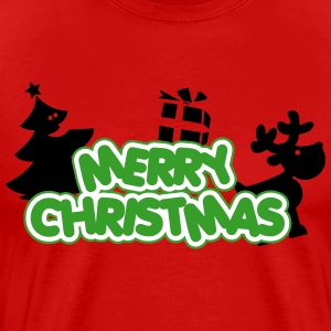 Merry Christmas T-shirts - Herre premium T-shirt