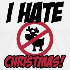 I hate Christmas T-shirts