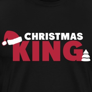 Christmas King T-shirts - Herre premium T-shirt
