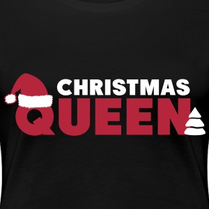 Christmas Queen T-skjorter - Premium T-skjorte for kvinner