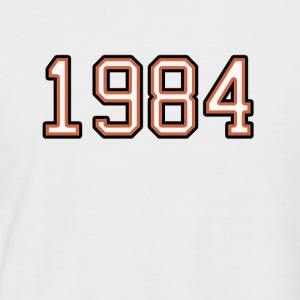 1984 - T-shirt baseball manches courtes Homme