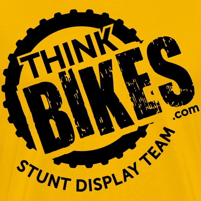 ThinkBikes T-Shirt (Black Logo)