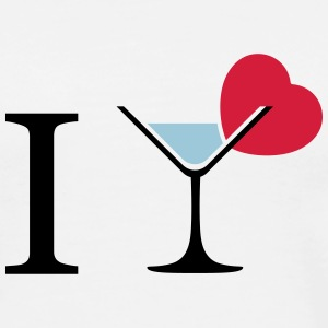 I  love cocktails pictogram T-Shirts - Men's Premium T-Shirt