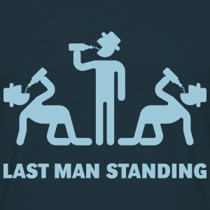 Last Man Standing (Binge Drinking Party) T-Shirts - Men's T-Shirt