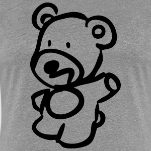 Teddy T-Shirts - Frauen Premium T-Shirt