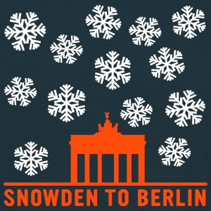 Snowden to Berlin T-Shirts - Men's T-Shirt
