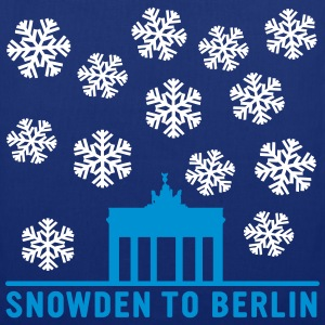 Snowden to Berlin Bags & backpacks - Tote Bag