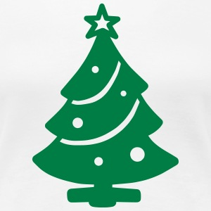 Christbaum T-Shirts - Frauen Premium T-Shirt