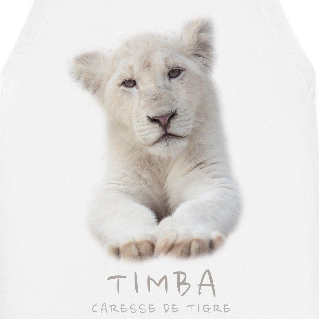 Tablier de cuisine Timba bébé portrait