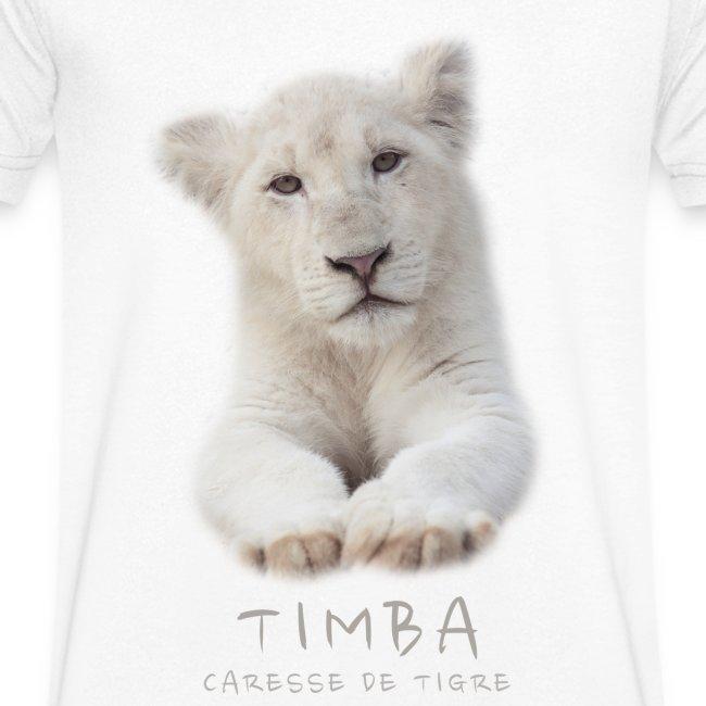 T-Shirt Homme V Timba bébé portrait
