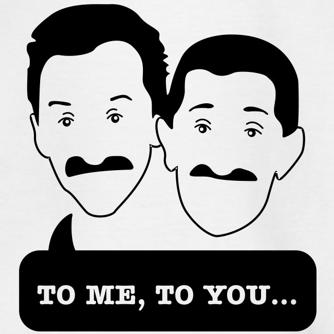 Chuckle Brothers - Teenager tshirt for Movember