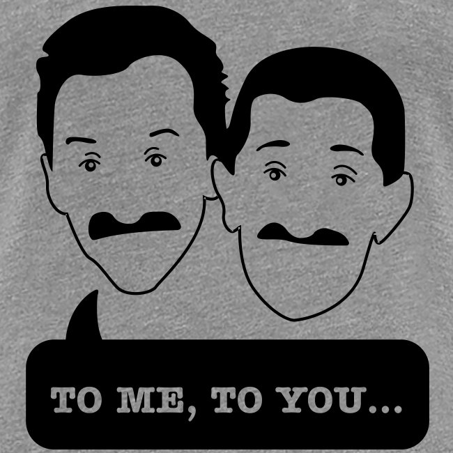 Chuckle Brothers - Up to 3XL Women's tshirt for Movember