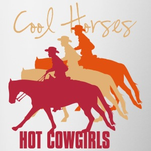 cool_horses_hot_cowgirls Flaschen & Tassen - Tasse