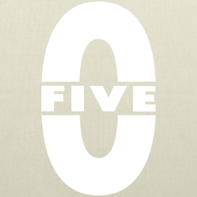 "Sac en tissu ""Five-0"""