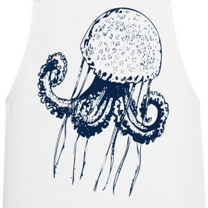 jellyfish medusa hydroid polyp octopus ocean scuba  Aprons - Cooking Apron