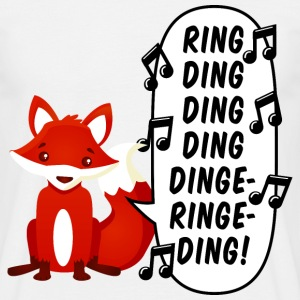 What does the fox say? - Männer T-Shirt
