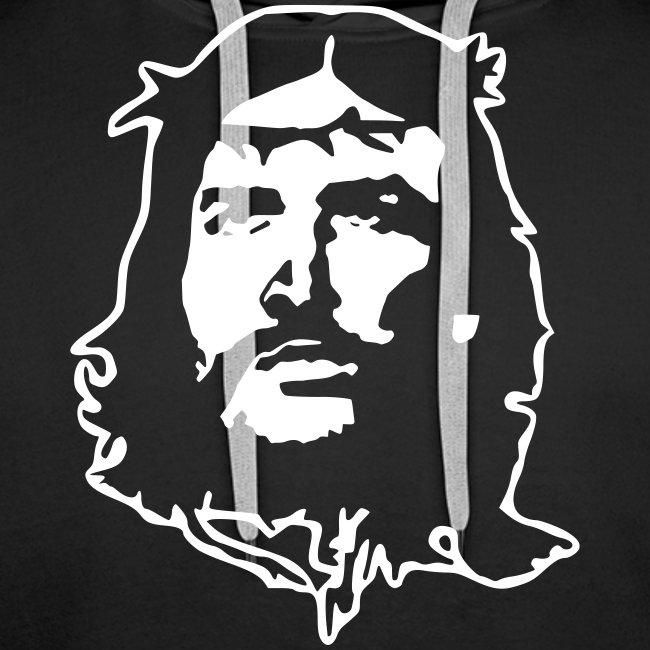 Kapuzenpulli Che Jesus weiß