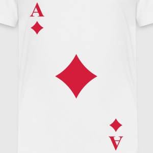 Ace of diamonds Camisetas - Camiseta premium niño