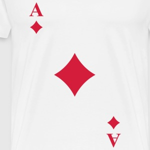Ace of diamonds Camisetas - Camiseta premium hombre