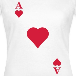 Ace of hearts T-Shirts - Women's T-Shirt